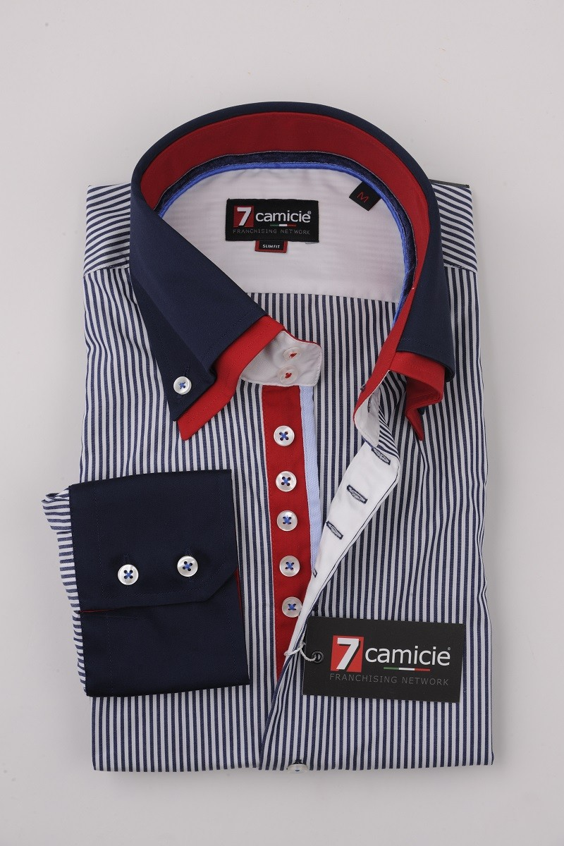 7-0122 Blue Stripe