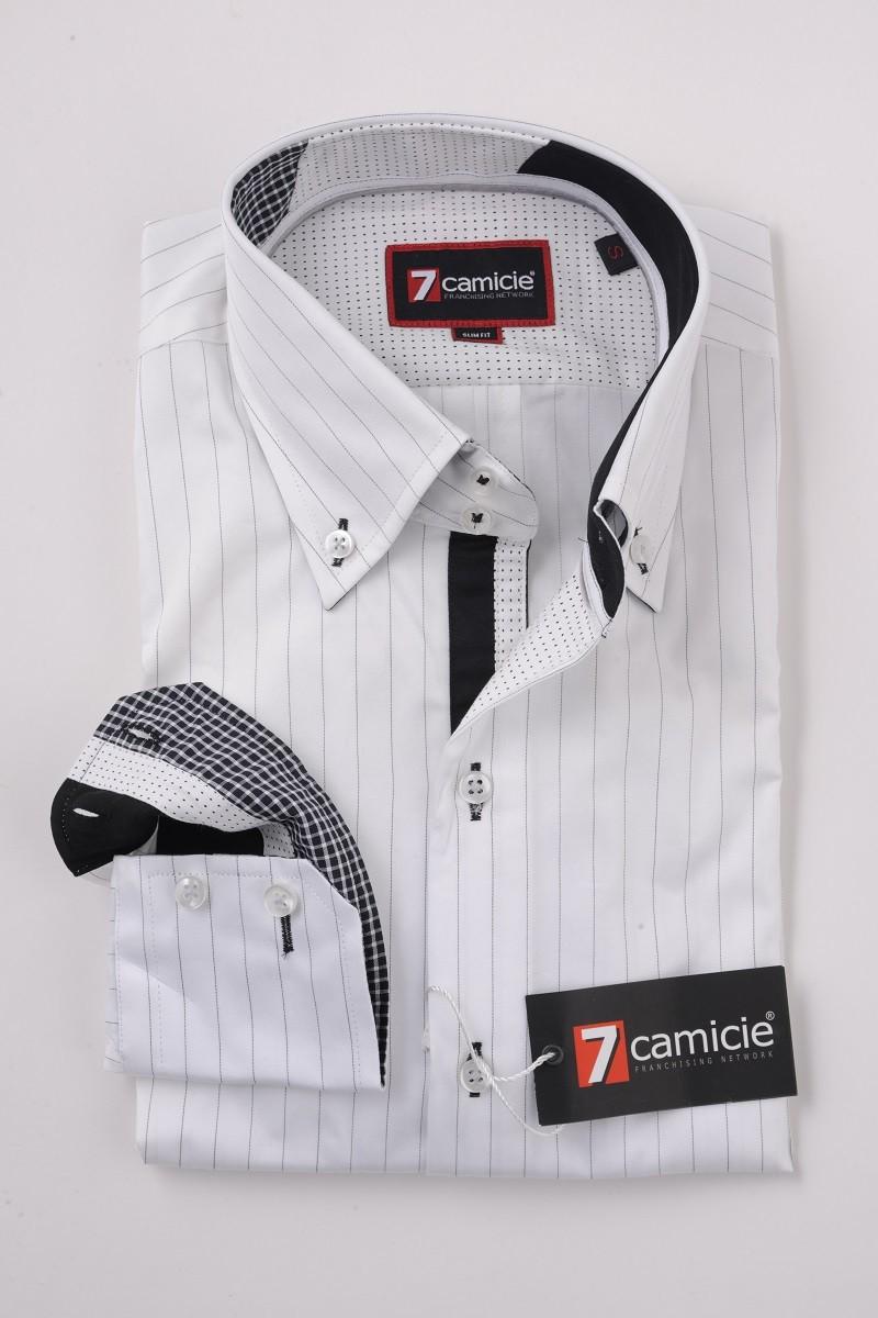 c2-0054 White Stripe