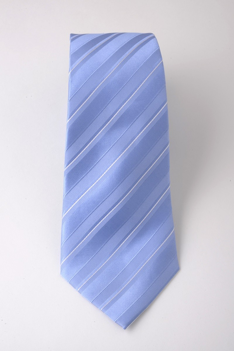 c3-0061 LightBlue White Stripe