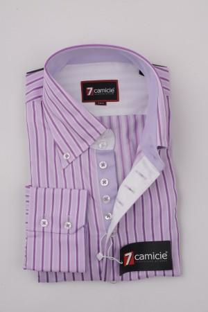 7-0008 Violet Stripe