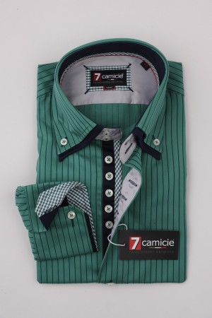 7-0126 Green Stripe