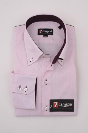 7-0133 Pink Stripe