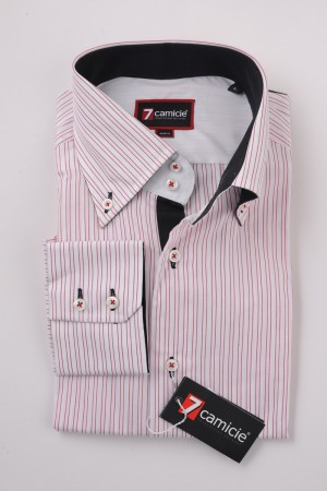 c2-0038 White Stripe