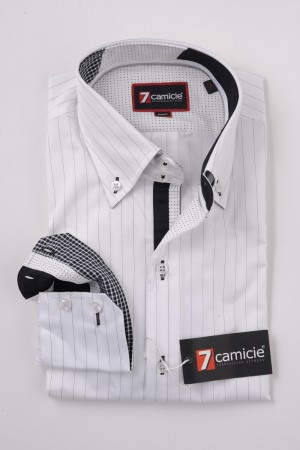 c2-0054 White Stripe