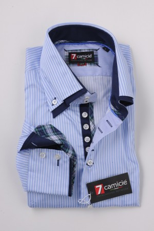 c2-0075 Blue Stripe