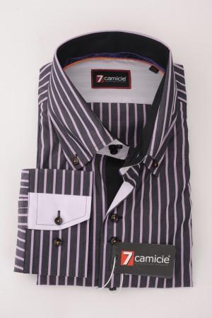 c4-0123 Gray Stripe